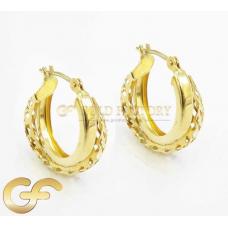 14ct Gold Earrings.
