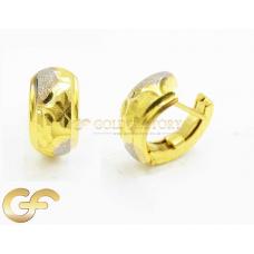 22ct Gold Clip Earrings.