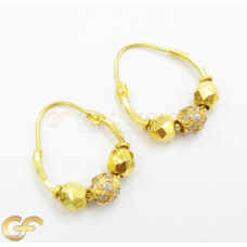 22ct Gold Hoops.