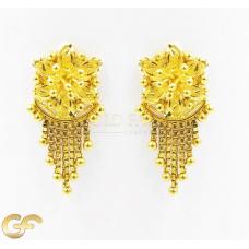 22ct Gold Earrings.