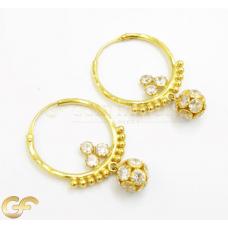 22ct Gold Hoop Earrings.