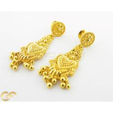 22ct Gold Dangle Earrings