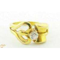 22Ct Gold Unisex Om Ring