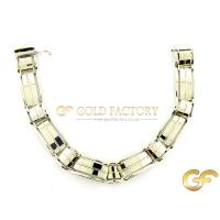 Gents White Gold Bracelet