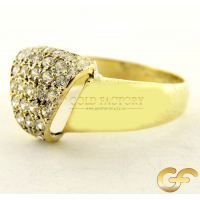 Pave Ring in 14ct Gold