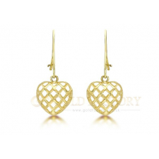Heart Cage Earrings